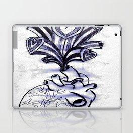 My Heart Overflows Laptop & iPad Skin