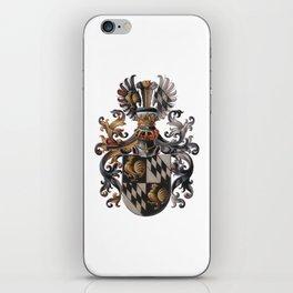 Medieval Old Crest iPhone Skin