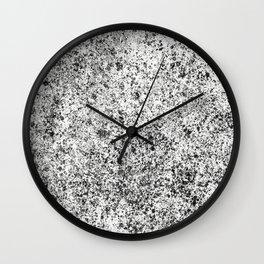 JP Sketch BW Wall Clock