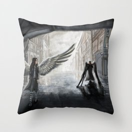 Helpless: We Used to Have Each Other Throw Pillow