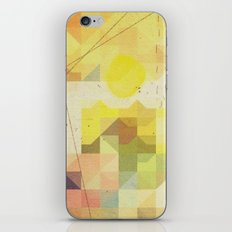 baja sunrise iPhone & iPod Skin
