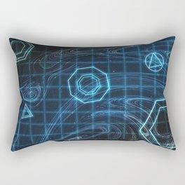 Young and Menace Rectangular Pillow