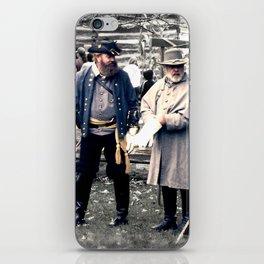 Civil War Reenactment iPhone Skin