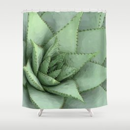 Cosy plant Shower Curtain