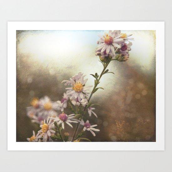 Fall Flowers Art Print