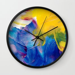 Random Painting Wall Clock