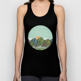 Enchanted Wood Unisex Tank Top