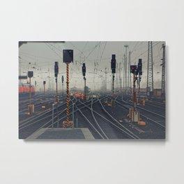 trainyard Metal Print