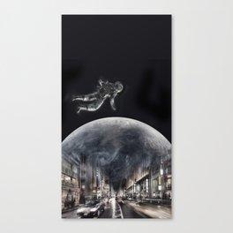 Vingt in the big city Canvas Print