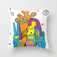 Frank's Mind Throw Pillow