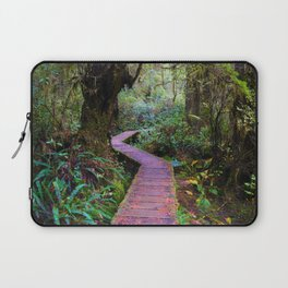 Rainforest Trail, Vancouver Island BC Laptop Sleeve