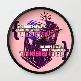 Idris - Doctor Who Wall Clock