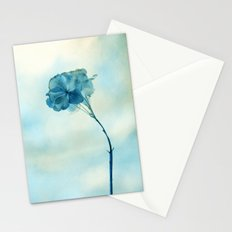 blue day Stationery Cards