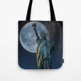 Liberty Moon Tote Bag