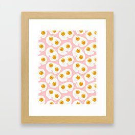 Egg bbs Framed Art Print