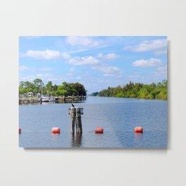 Okeechobee waterway Metal Print