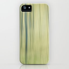 Pure woods blur iPhone Case