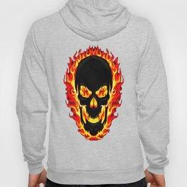 Flame Skull Hoody