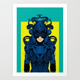 Outfit of the Day Art Print