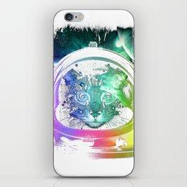 astro cat iPhone Skin
