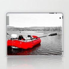 Floating Red Laptop & iPad Skin