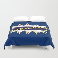 thailand Duvet Covers featuring Thailand by mailboxdisco