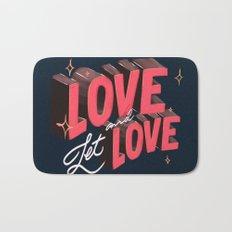 Love & Let Love Bath Mat