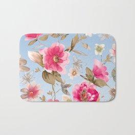 flower watercolor 6 Bath Mat