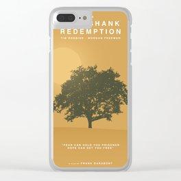 The Shawshank Redemption, 1994 (Minimalist Movie Poster) Clear iPhone Case