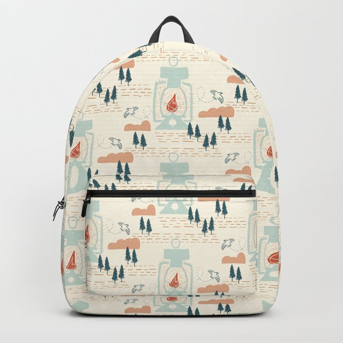 Forest Camp Lantern Backpack