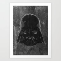 darth vader Art Prints featuring Darth Vader by Some_Designs