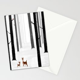 Momma Deer Stationery Cards