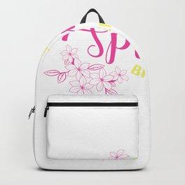 Hello Spring Break Nature Lover Gift Backpack