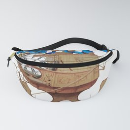 A Time Machine Fanny Pack