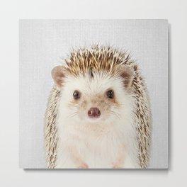 Hedgehog - Colorful Metal Print