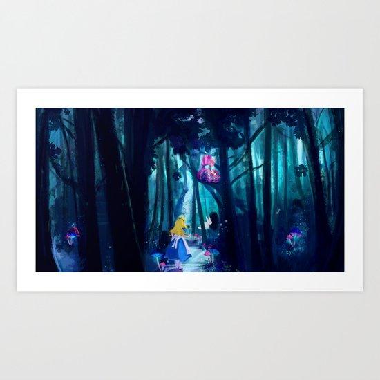 Alice in Wonderland by eggylicky