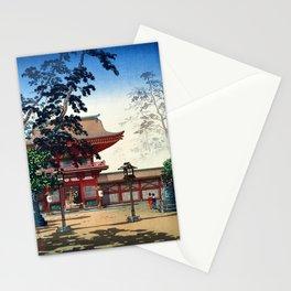 Tsuchiya Koitsu - HAKOZAKI Temple Stationery Cards