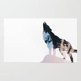 Wolf. Rug