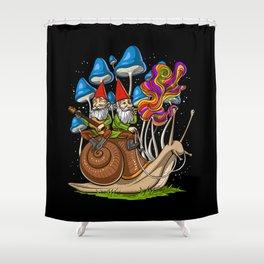 Mushroom Gnomes Shower Curtain