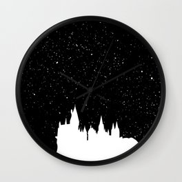 Hogwarts Space Wall Clock
