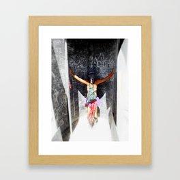 Sandstorm Dragon Framed Art Print