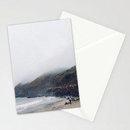 Rainy Beach Stationery Cards