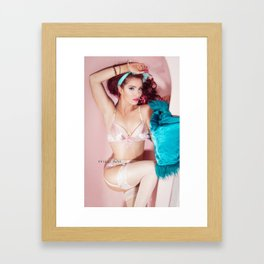 West Coast Showgirl Framed Art Print