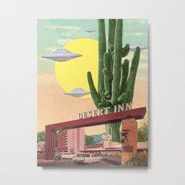 Desert Inn Metal Print