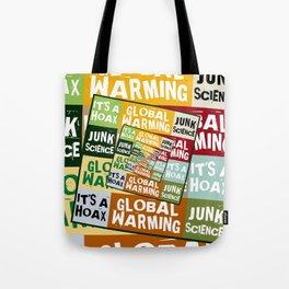 Global Warming Fraud Tote Bag