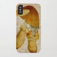 mortal instruments iPhone & iPod Cases featuring Mortal mushroom by Joe Ganech