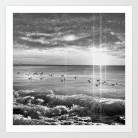 Magical Sea Art Print