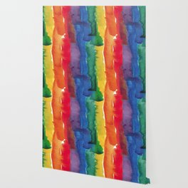 rainbow watercolor Wallpaper