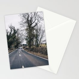 cycling aroung britain Stationery Cards