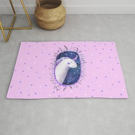 Unicorn - Pink and Purple Rug